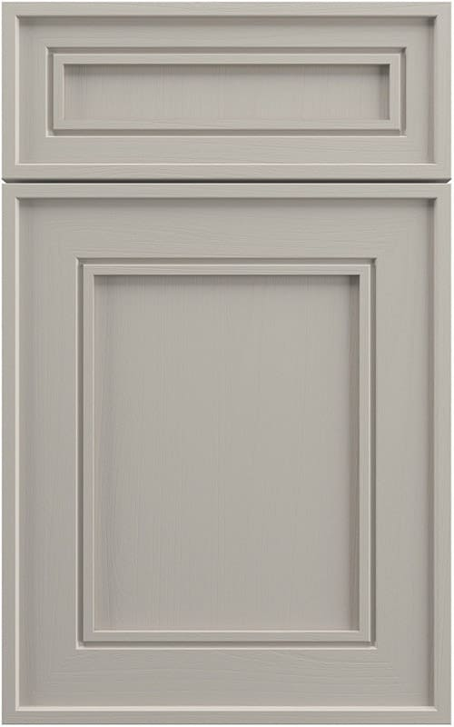 Кристиан - светло-серый фасад для кухни