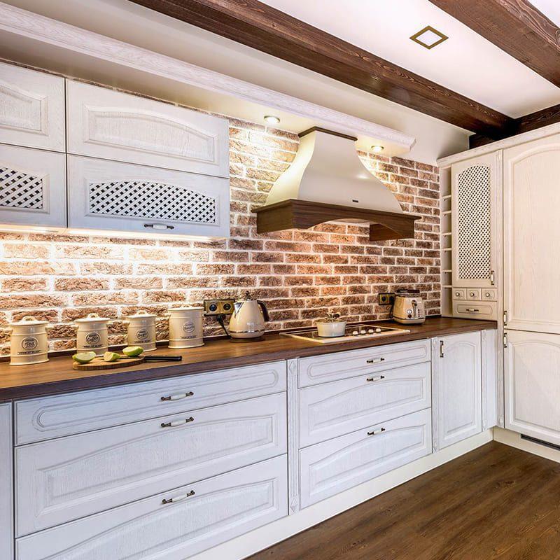 белая кухня кантри