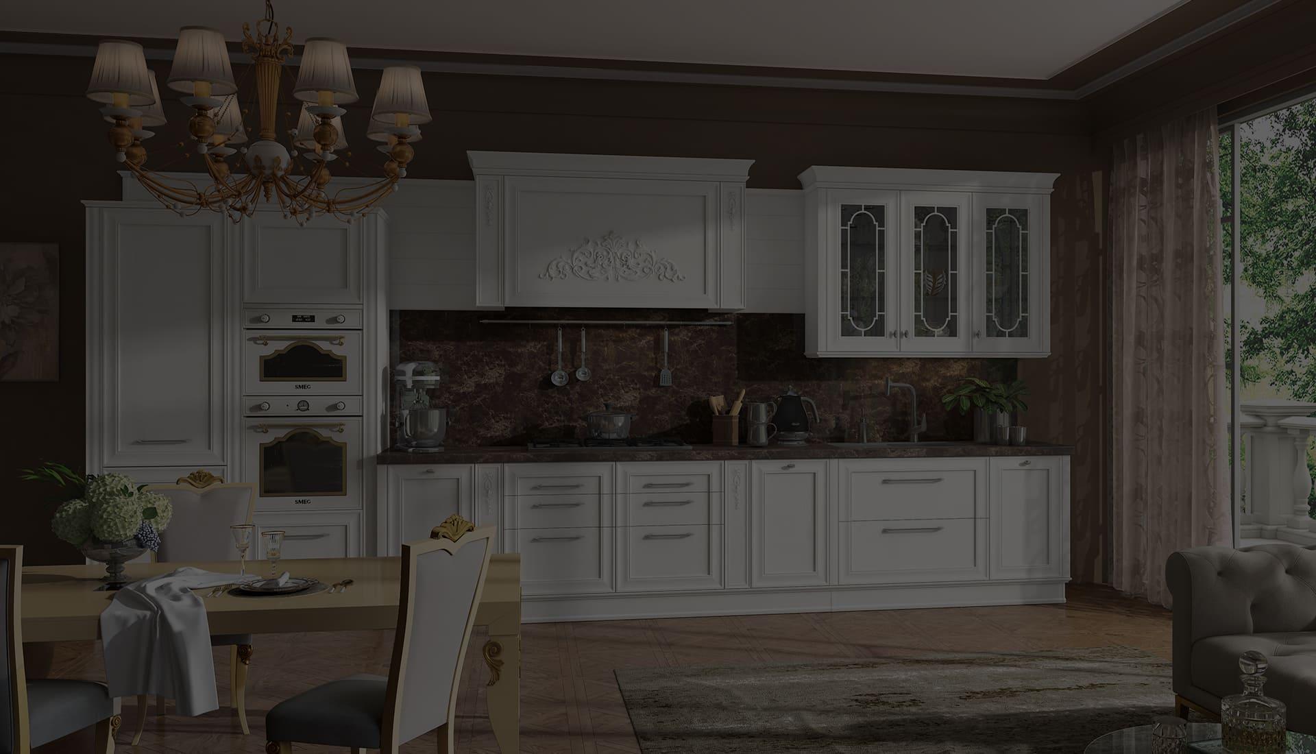 Кухня Комо от производителя Кухни Клик