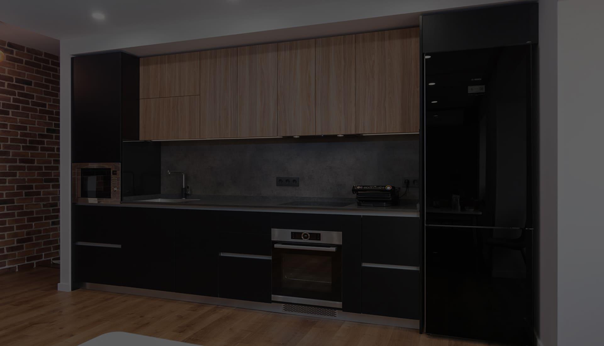 Современная кухня в индустриальном стиле