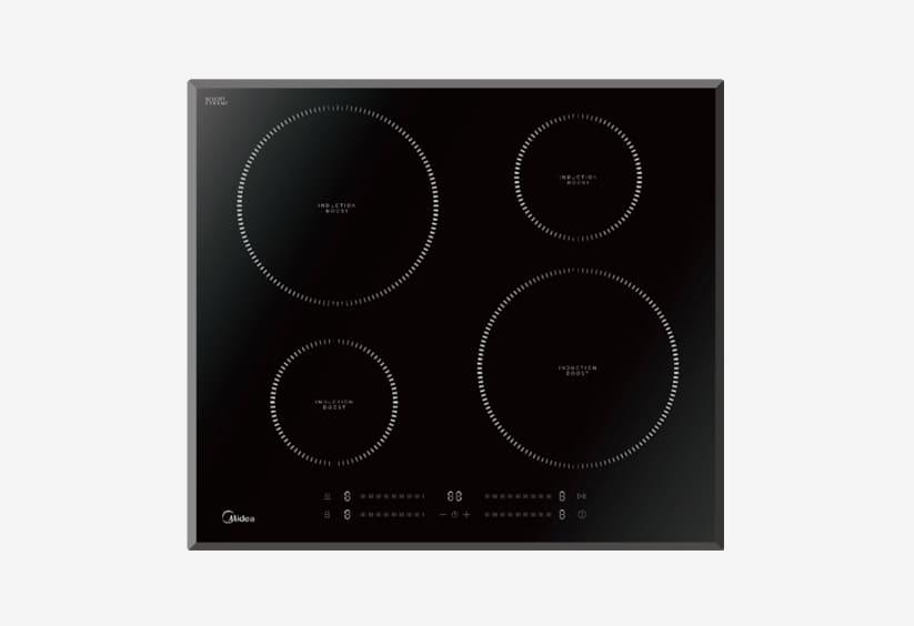 Черная варочная панель для кухни Мидеа MIH 65742 F