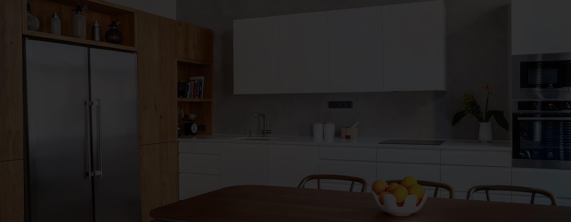 Изготовление кухонь по индивидуальным проектам