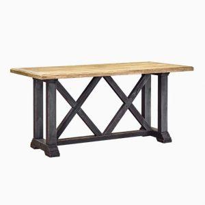 Винтажный стол с черныйм подстольем